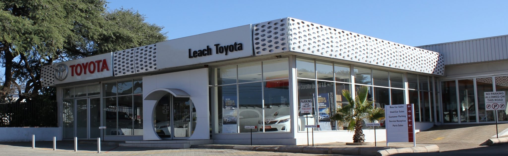 Leach Toyota Dealership